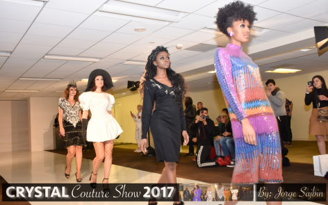 The Crystal Couture fashion show